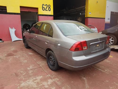 Sucata Honda Civic 1.7 16v 2001 2002 2003- Retirada De Peças