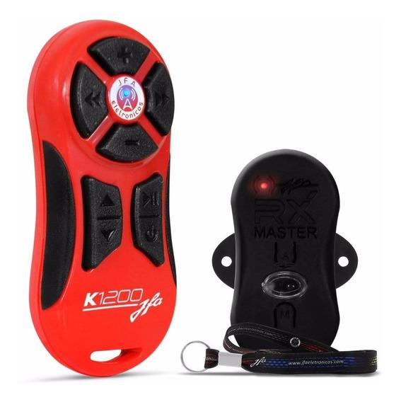 Controle Longa Distância Jfa K1200 1200mts Completo Vermelho