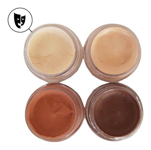 Base Cremosa Maquillaje Titi Mini Pote 5gr - Piel 1