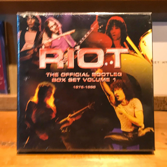 Riot Official Box Set Volume 1: 1976-1980 Box Set Cds