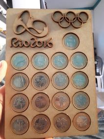 Coleção De Moedas Olimpíadas Rio 2016