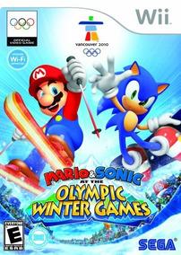 Mario Y Sonic En Los Juegos Olímpicos De Invierno - Nintendo