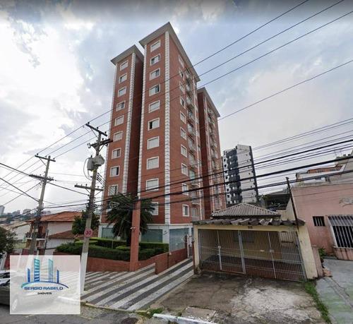 Imagem 1 de 13 de Apartamento Com 2 Dormitórios À Venda, 60 M² Por R$ 420.000,00 - Mirandópolis - São Paulo/sp - Ap3715