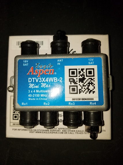 Multiswitch Splitter Original Direc. Tv De 4 Salidas