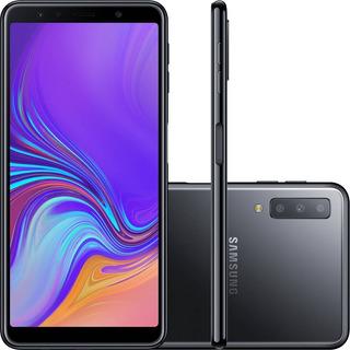 Celular Samsung Galaxy A7 128gb/4gb 2018 Capa + Pelicula