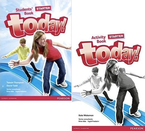Today! Starter Student´s And Activity Book - Pearson