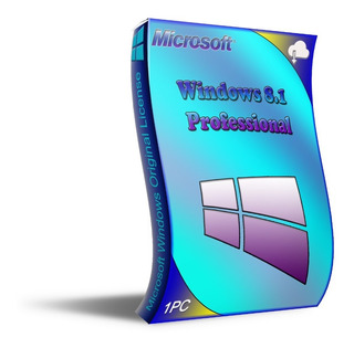 Lic. Windows 8.1 Pro. 1 Pc Entrega Inmediata