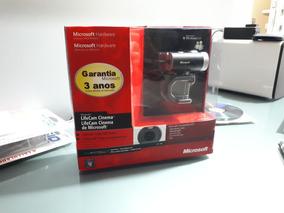 Webcam Microsoft Lifecam Cinema Hd 720p Vídeo E Foto