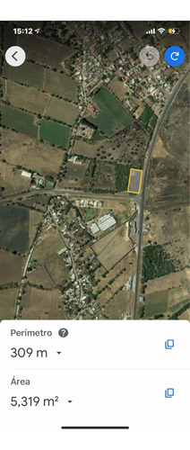 Imagen 1 de 7 de Terreno 5000 M2. 100x50 A3 Km De Centro Logístico Propi