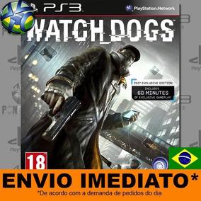 Jogo Ps3 Watch Dogs Ps3 Psn Play 3 Português Mídia Digital