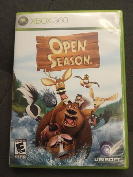 Open Season Xbox 360 O Bicho Vai Pegar Original