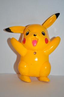 Pikachu Con Luces Y Sonido 10cm