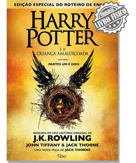 Harry Potter E A Criança Amaldiçoada - Parte 1 E 2 Promoção