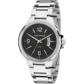 Relógio Technos Analógico Classic Steel Masculino 2115ksk/1p