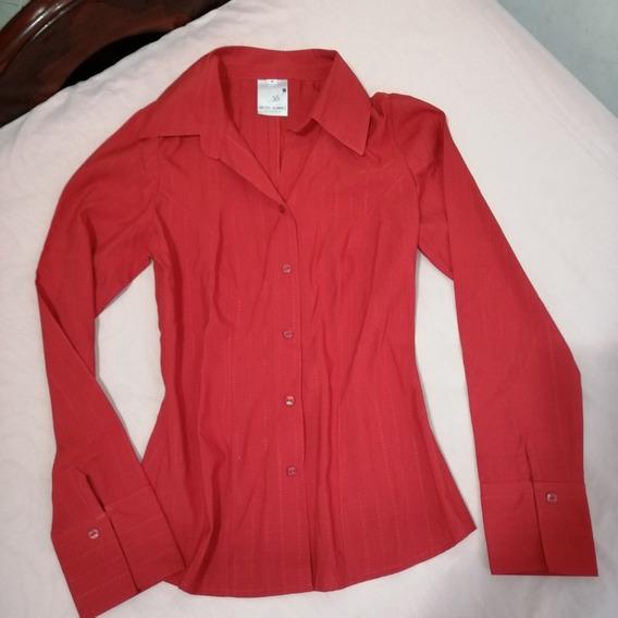 Blusa Camisa Para Dama Talla S Ejecutiva
