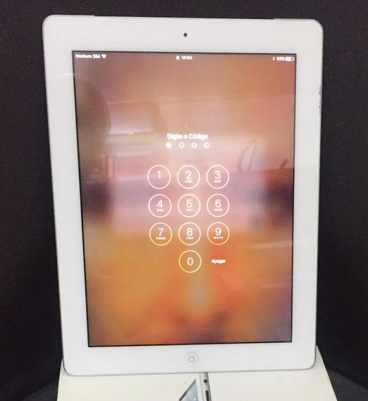 iPad 4 16gb Chip E Wi-fi Único Dono
