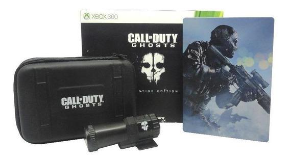 Call Of Duty Ghosts Prestige Edition Xbox 360 Mídia Física