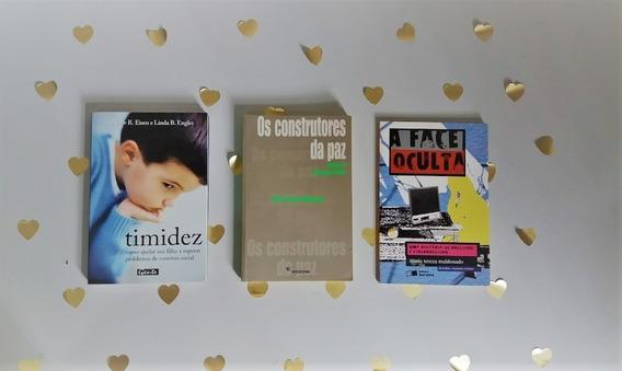 Kit Com 3 Livros Sobre Violência E Psicologia