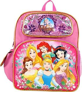 Princesa Cenicienta Belle Aurora Rapunzel 12 Pulgadas Mochil