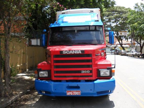 Scania 113 - 1995 Baú Refrigerado
