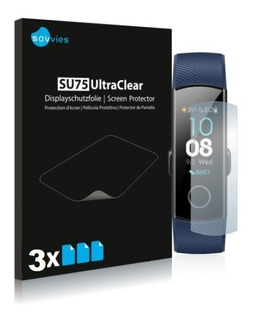 3x Películas Protetoras Savvies® Para Huawei Honor Band 4