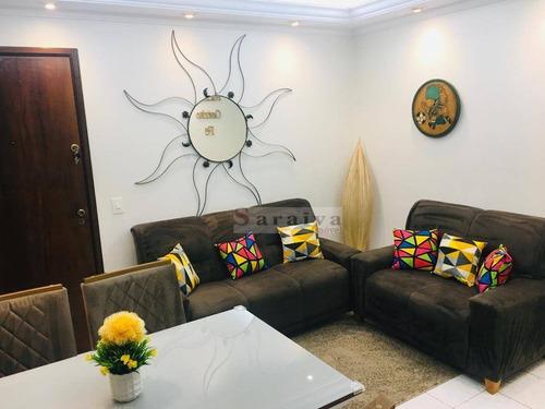 Imagem 1 de 15 de Apartamento Com 2 Dormitórios À Venda, 50 M² Por R$ 265.000,00 - Centro - São Bernardo Do Campo/sp - Ap3701