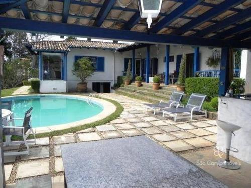 Imagem 1 de 19 de Casa Com 4 Dormitórios À Venda, 885 M² Por R$ 1.590.000,00 - Granja Viana - Cotia/sp - Ca0483