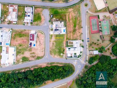 Terreno Plano Com 390m² Em Condomínio Completo