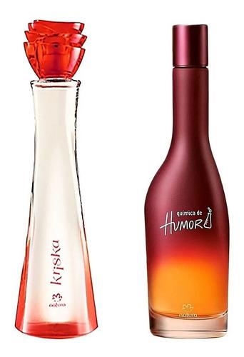 Imagen 1 de 1 de Perfumes Femeninos Kriska Clasica + Quí - mL a $343
