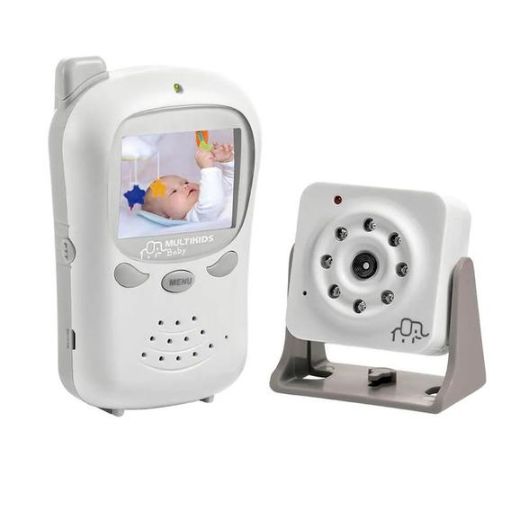 Babá Eletrônica Digital Recarregável Baby Talk - Multikids