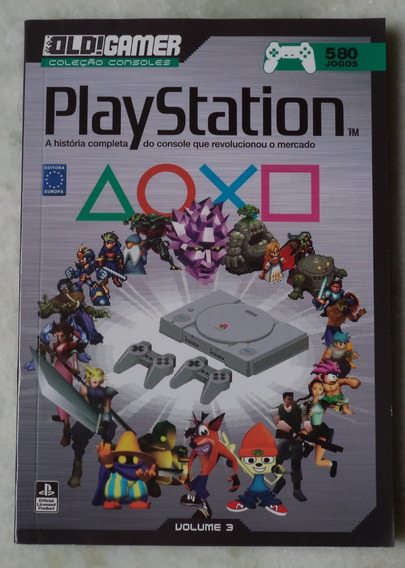 Old Gamer Playstation
