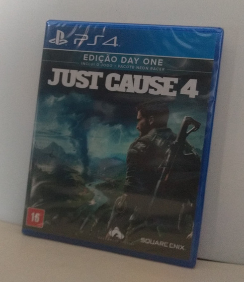 Just Cause 4 Ps4 Mídia Física Lacrado Pronta Entrega