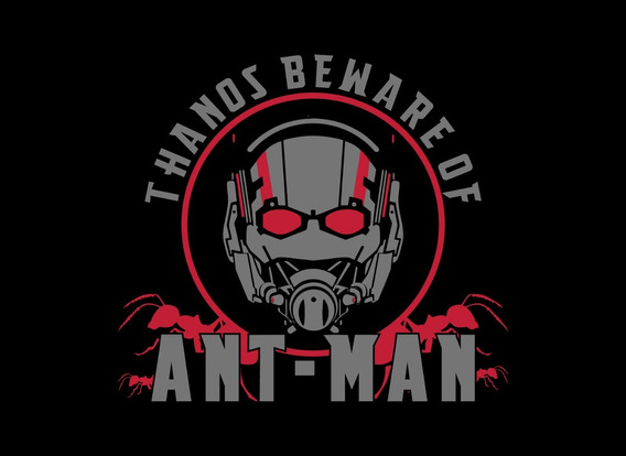 Playera Avengers Endgame - Ant-man- Envio Gratis.