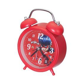 Relógio De Mesa Despertador Infantil Miraculous Ladybug