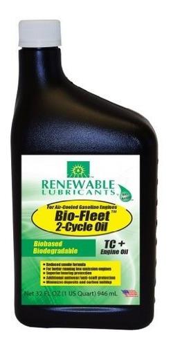 Imagen 1 de 1 de Renewable Lubricants 85881 Bio Fleet Tc 2 Cycle Engin Oil, 1