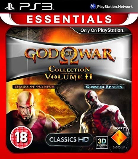 Jogo Mídia Física God Of War: Collection Volume 2