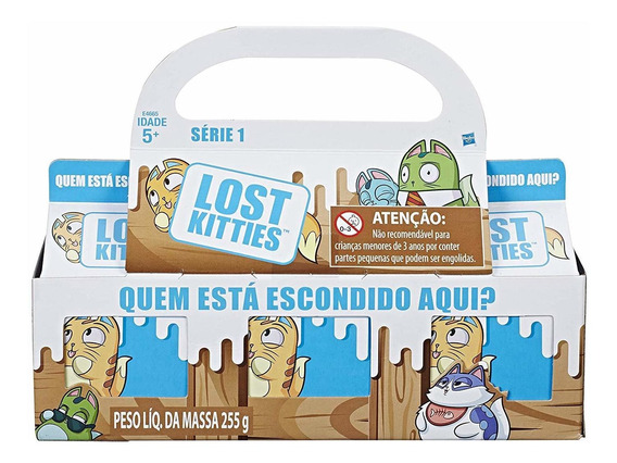 Lost Kitties - Kit 3 Caixas Surpresa - Série 1 - Hasbro