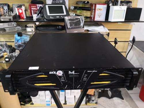 Amplificador De Potência Skp Max G 1800x Funcionando 100%