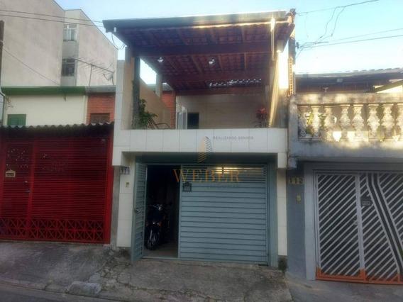 Lindo Sobrado No Jardim Monte Alegre - So0430