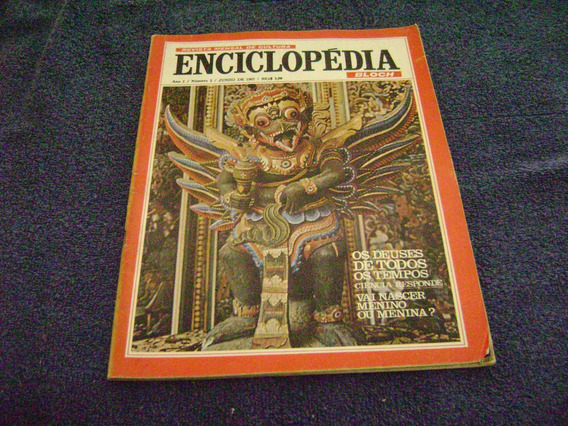 Revista Enciclopedia 02 - Junh/67 - Bloch - India/parana