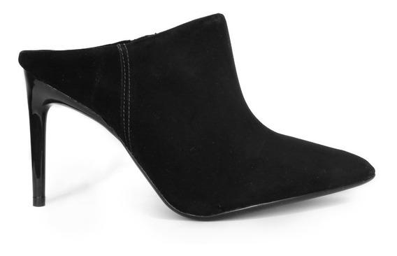 Zapato Stiletto Cuero Nobuk Vizzano. Modelo 1344zue