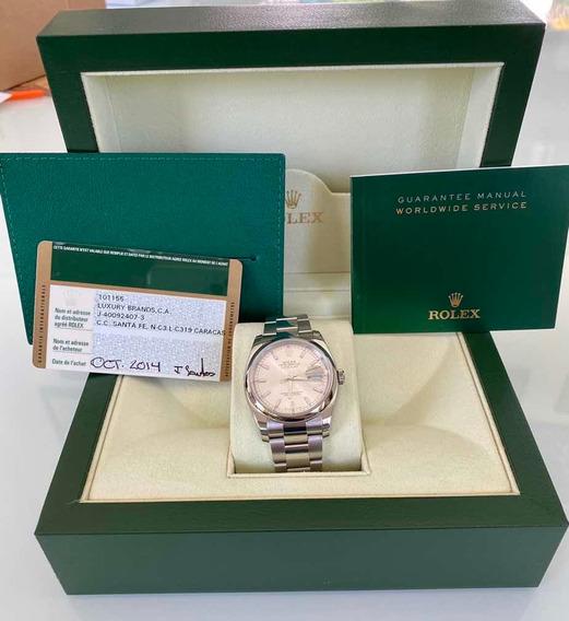 Relógio Rolex Datejust 116200 36mm