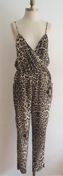 Jumpsuit Pantalon Rapsodia, Animal Print Talla M
