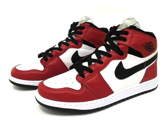 Tênis Masculino Alto Air Jordan 1 Chicago Retro High 50% Off