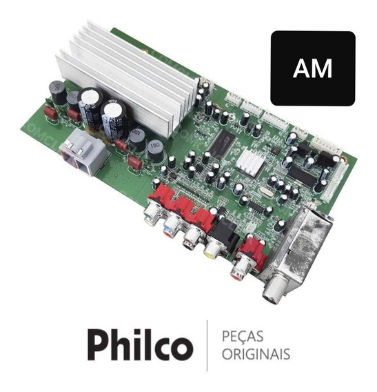 Placa Amplificadora Som Philco Ph650/m