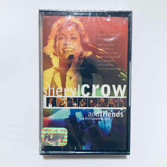 Sheryl Crow Live From Central Park Cassette Nuevo Sellado