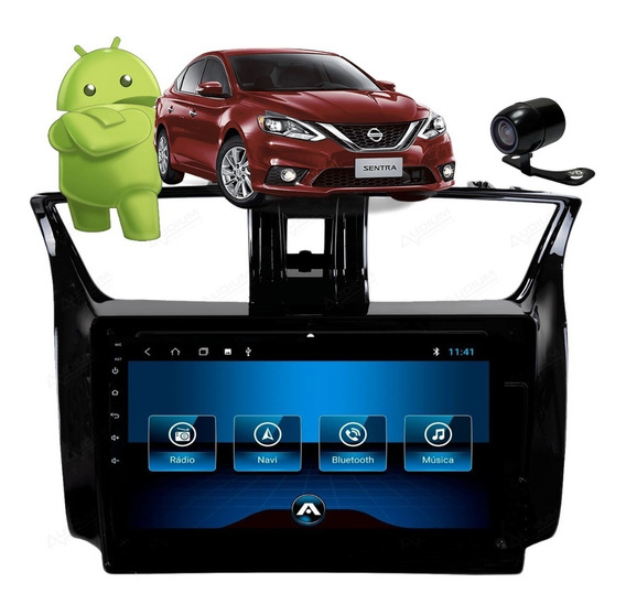 Kit Multimida Nissan Sentra Android 8.1 Aikon Cam Re Tv