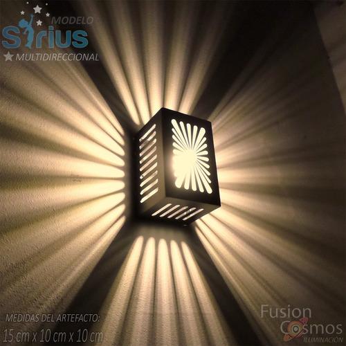 Imagen 1 de 10 de Bañador Pared Interior Exterior P/ Proyectar 9 Efecto P/ Led