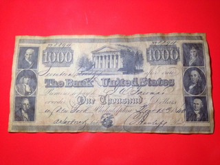 Billete De Mediados De Siglo Falso Est Unidos Bono $1000 Jmg