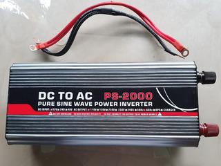 Inversor Solar Honda Pura A 12 Voltios 110 V Salid Original